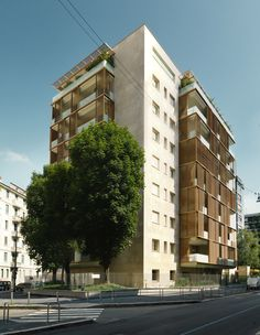 LEONE XIII RESIDENTIAL BUILDING – Milan [Italy] | MAB Arquitectura