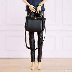 Style tip: minimal pieces can have maximum impact!  #barbie #barbiestyle