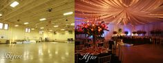 How to design weddings, create wall and ceiling draping, and save money on weddings. Never underestimate draping and lighting! #HotelWedding #KeyWestHotelWedding