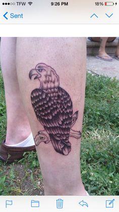 Eagle I have tattooed