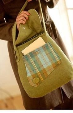 Country Courier Bag sewing pattern from Indygo Junction