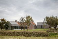 Farmhouse Burkeldijk and fortress Hazegras, Knokke-Heist, Govaert & Vanhoutte Architects
