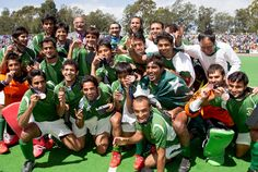 Picture Of The Pakistani Hockey Team