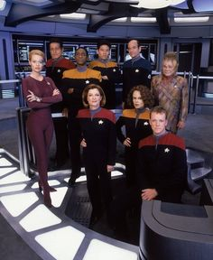 Star Trek: Voyager crew