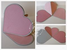 #5/6   heart easel card, had to translate.  Whiff of Joy - Tutorials & Inspiration: ♥ Herzeaselcard ♥