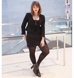 Editor's Style: Rebecca Moss's All Black Outfit (With a Touch of Red)