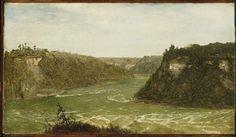 John Frederick Kensett >> Whirlpool, Niagara