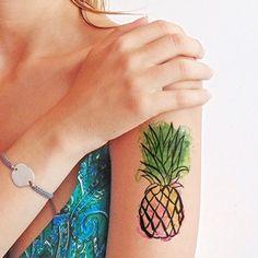 tatuaggio piccolo ananas - Cerca con Google