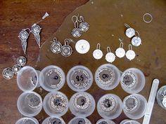 using teflon pan to make granules. Making Granules: The Sandkuhler Splash - Lillian Jones