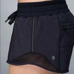 Lululemon - Hotty Hot Short Basically new shorts, worn once or twice. Perfect condition. lululemon athletica Shorts