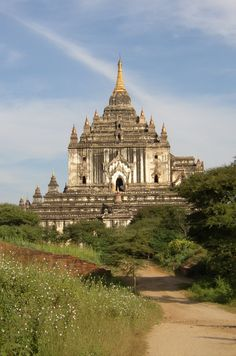 Thatbyinnyu Temple is a famous temple located in Bagan (formerly Pagan), built in the mid-12th century