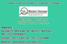 Now time to achieve your target of study visa. If you are desirable for study visa and looking for IELTS institute in Chandigarh. Then a good news for is that western overseas has also started IELTS coaching in Chandigarh. Western overseas is well known in Ambala and Kurukshetra. Now they have also started providing IELTS coaching in Chandigarh. Get enroll in western overseas and crack your IELTS and apply for study visa.