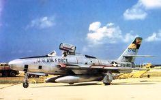 A USAF RF-84F Thunderflash.