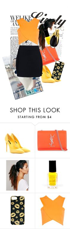 """""""random~~"""" by angeliquemetta ❤ liked on Polyvore featuring Dolce&Gabbana, Yves Saint Laurent, Free People, Barry M, Paul's Boutique, Boohoo and A.L.C."""