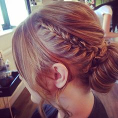 Hair up by me x