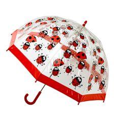 A lovely ladybird umbrella!  http://www.thelandofme.com/blog/2011/7/8/friday-fives-rainy-day-fun.html