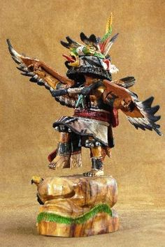 native american kachina | ... Hopi Indian Eagle Kachina Doll