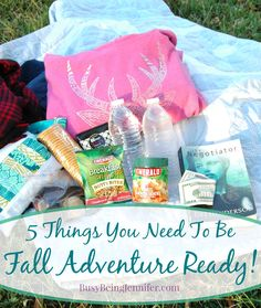 Be Fall Adventure Ready! - BusyBeingJennifer.com