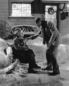 """It's a Wonderful Life"" Jimmy Stewart, Henry Travers 1946 RKO **I.V."