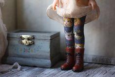 Kitty Blythe Stockings by pommepomme on Etsy