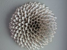 Paper flower made from upcycled book pages, $55 via Etsy.