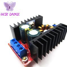 FREE SHIPPING!1PCS/LOT 150W Boost Converter DC-DC 10-32V to 12-35V Step Up Voltage Charger Module //Price: $2.86//     #gadgets