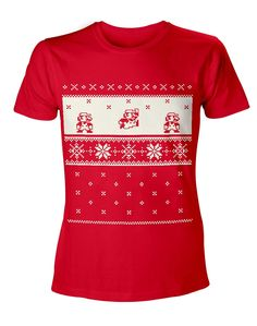 Mario Christmas T-Shirt - Gamer Loot