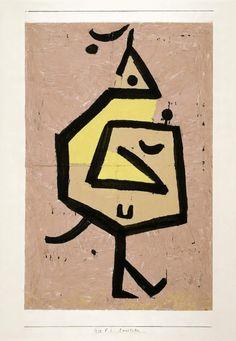 Paul Klee, 'Cunctator'