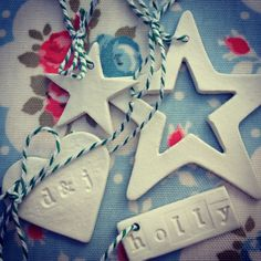 Air dry clay decorations