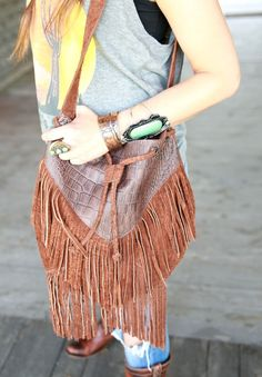 old Mexico FRINGE PURSE {junk gypsy co}
