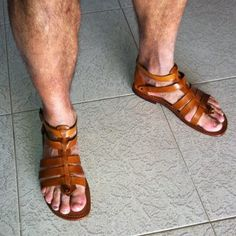The Best Men's Shoes And Footwear : Our fan with gladiator sandals made in Italy – handmade leather sandals —> Shop online: www.it -Read More – Men's Shoes, Shoe Boots, Dress Shoes, Gladiator Sandals For Men, Men Sandals, Leather Men, Leather Shoes, Leather Sandals For Men, Best Shoes For Men