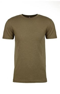 05abb464 Military Green 6210 Next Level Apparel MEN'S CVC CREW Crew Shirt, T Shirt,  Spun