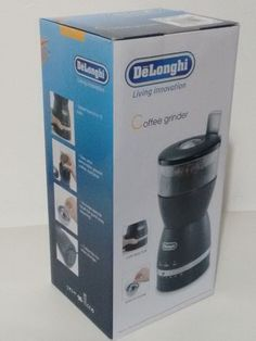 Delonghi Electric Coffee Bean Grinder *New* Adjustable Cups Drip Coffee Maker, Coffee Beans, Cups, Electric, Kitchen Appliances, Ebay, Diy Kitchen Appliances, Mugs, Home Appliances