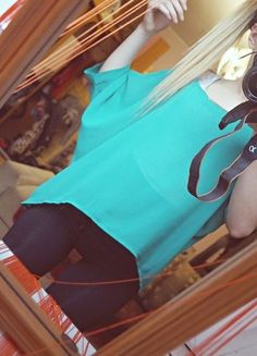 Kup mój przedmiot na #vintedpl http://www.vinted.pl/damska-odziez/bluzki-z-3-slash-4-rekawami/11677059-dluga-luzna-koszulka-xlxxl