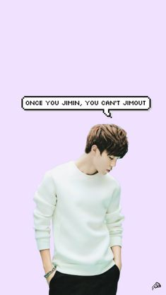 """Once you Jimin..."" So freaking true!!! Love this more than life!! JIMIN IPHONE WALLPAPER by sarahpoonie on DeviantArt"