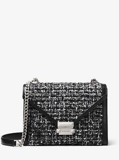 3567dd5579a4 Whitney Large Tweed Convertible Shoulder Bag. Logo LineDesigner Shoulder BagsHandbags  Michael KorsChanel ...