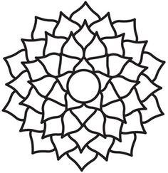 Chakra Symbols - Crown design (UTH5053) from UrbanThreads.com