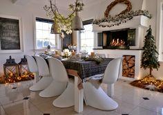 Franciskas Vakre Verden: Jul på kjøkkenet mitt og tips til å dekke et fint julebord