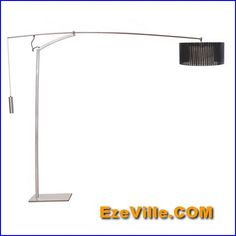 Gorgeous  contemporary floor lamp with table attached002