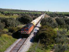 Comboio Internacional n.º 41814 - Elvas