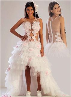 Otro vestido de quince en blanco - Another white fifteen dress