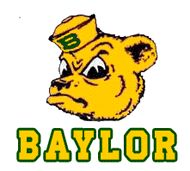 Sailor Bear = my favorite Baylor logo by far
