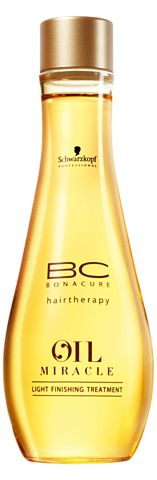 Schwarzkopf Professional BC Bonacure Oil Miracle  Light Finishing Treatment. Really good & smells heavenly