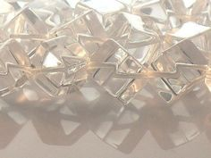 Crystal Quartz Beads Natural 10mm Cube AAA by JewelryQuestDesign, $16.99