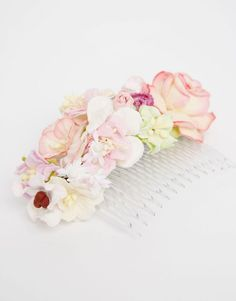 Image 2 of ASOS Paper Flower Hair Comb