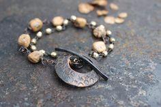 Joy  Runic amulet bracelet by solekoru on Etsy