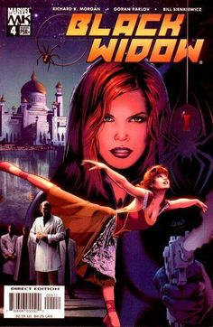 Black Widow Vol. 4 # 4 by Greg Land & Matt Ryan