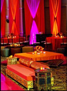 Sangeet, indian wedding decor  #indianwedding, #shaadibazaar