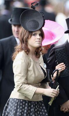 Royal Ascot 2011, Day Four: HRH Princess Eugenie of York (17 Jun 2011) [PHOTO CREDITS: Chris Jackson/Getty Images]