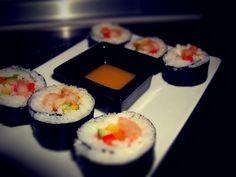 * homemade sushi